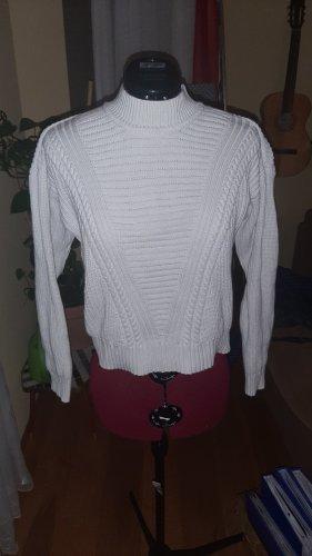 Minimum Maglione lavorato a maglia bianco Cotone