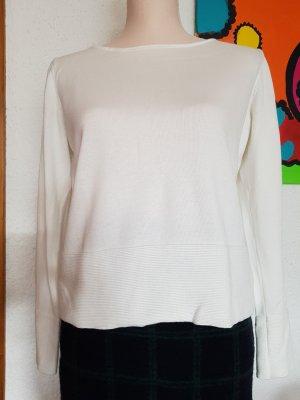 Weißer Pullover von more&more