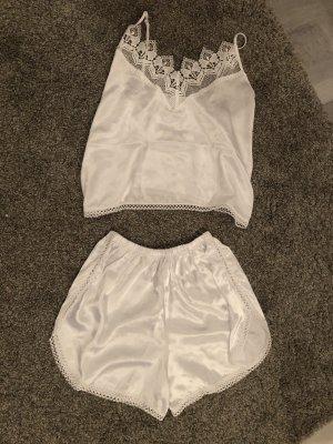 Vintage Pyjama blanc