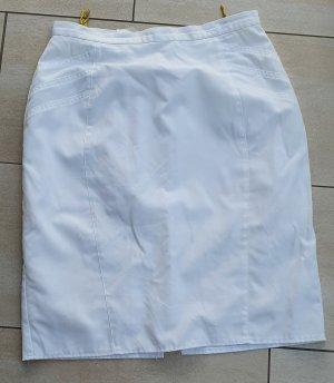 Lady Joy Linen Skirt white