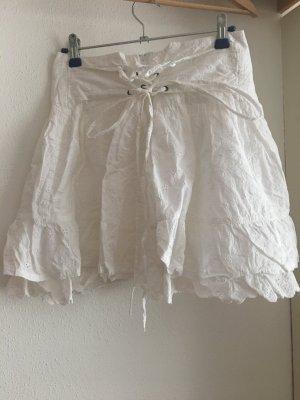 Orsay Koronkowa spódnica biały