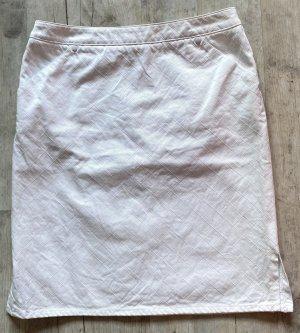 Chanel Gonna di jeans bianco Cotone