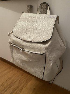 Weißer Rucksack