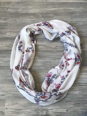Weißer Schal mit Blumenmuster von H&M