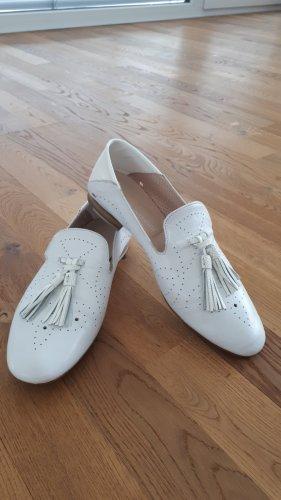 Andrea Sabatini Zapatos formales sin cordones blanco