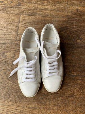 Weißer Sneaker von Saint Laurent