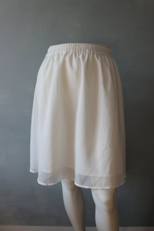 Weißer Sommerrock