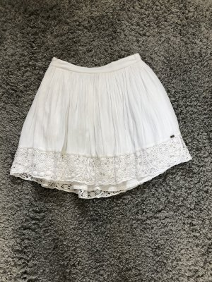 Superdry Lace Skirt white