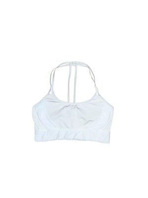 Weißer Sport BH mit schönem Rücken