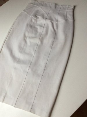 Burberry London Pencil Skirt white