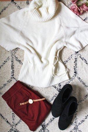 Blind Date Maglione dolcevita bianco