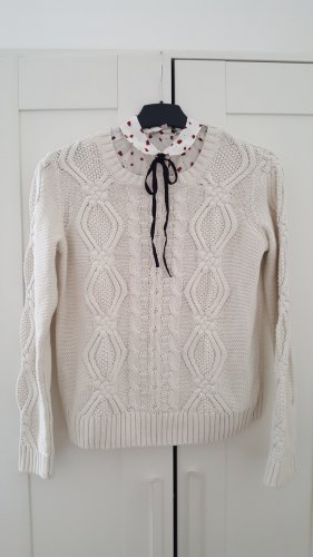 Avant Première Knitted Sweater white