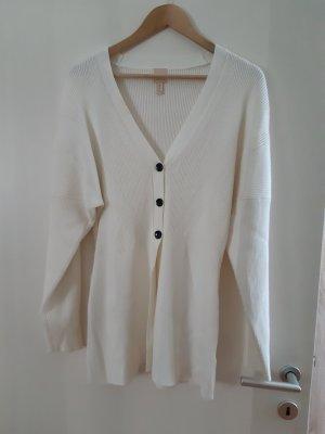 H&M Robe pull blanc cassé