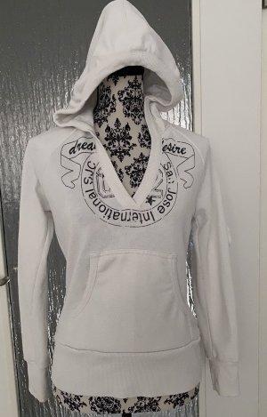 Clockhouse Sweat à capuche blanc-noir
