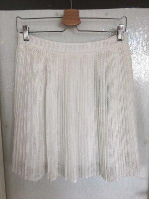 Kenzo Plaid Skirt white