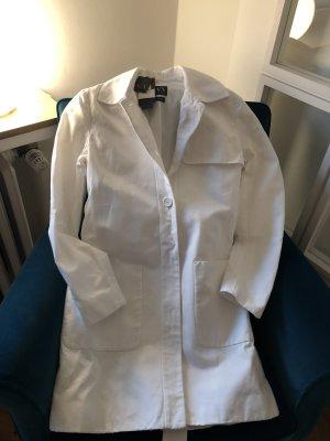 Armani Exchange Trenchcoat blanc coton