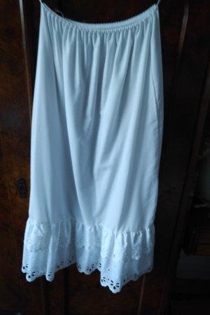 Koronkowa spódnica biały Bawełna