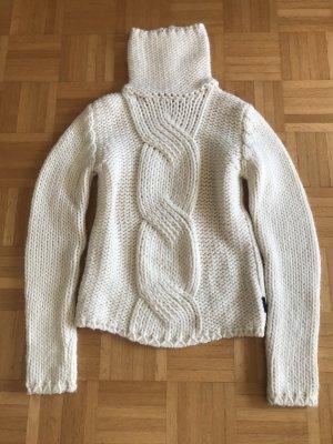 Freesoul Wool Sweater natural white wool