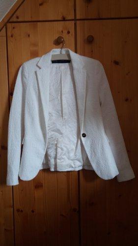 Weißer Zara blazer Muster off white