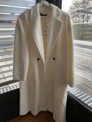 Weißer Zara Mantel
