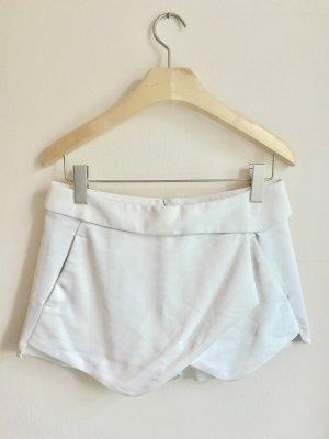 Zara Basic Falda pantalón blanco