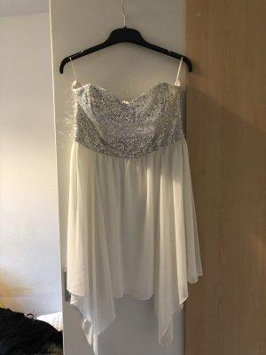 GinaTricot Robe de bal blanc