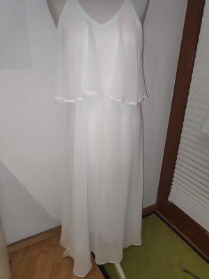 Weißes Abendkleid