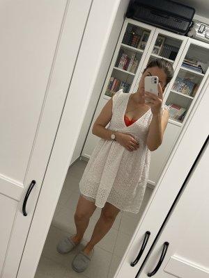 SheIn Robe Babydoll blanc