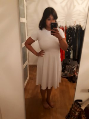 Zara Midi-jurk wit