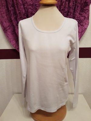 Weißes Basic Langarm Shirt Longsleeve Unterzieh-Shirt von Gina Benotti Gr. 44/46