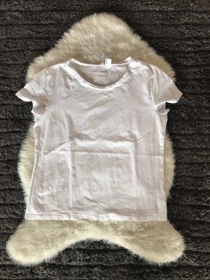 Weisses basic Shirt