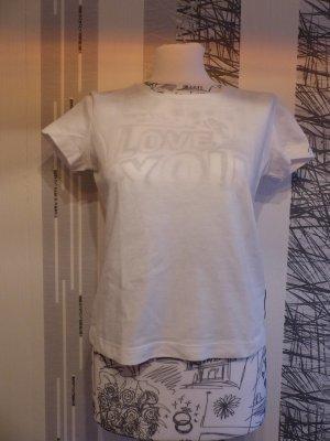 weißes Basic Sport T-Shirt von Mexx