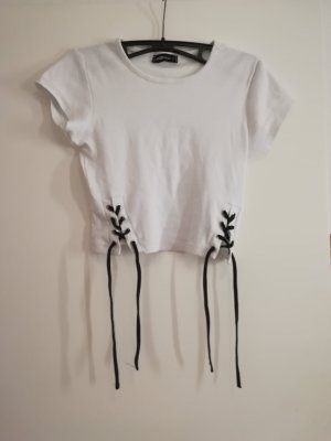 New Yorker T-Shirt white-black