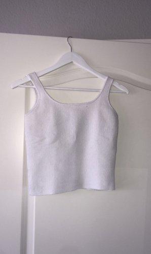 weißes baumwoll top