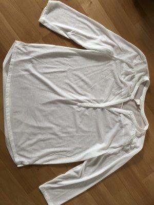 Weißes Blusen-Top