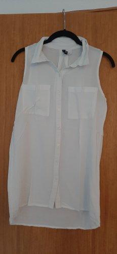 Weißes Blusenhemd