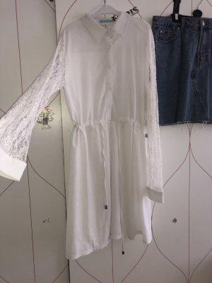 Bluzka ze stójką biały
