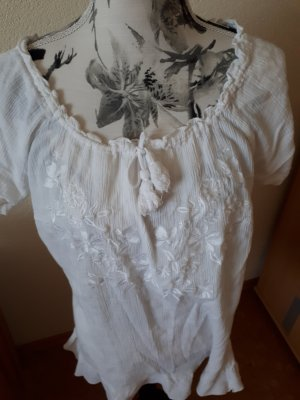 Bon Prix Bluzka o kroju koszulki biały