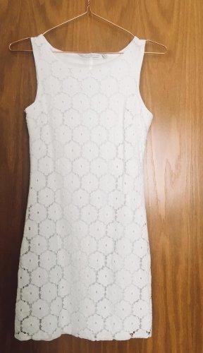 Weißes Boho Sommerkleid