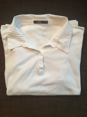 Weißes Cecil Polo-Shirt Gr. XXL