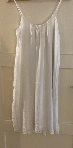 French Connection Chiffon Dress white