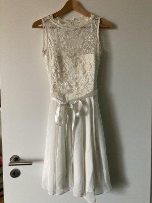 Swing Cocktail Dress white-natural white