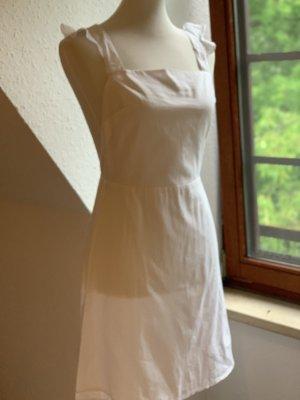 Nakd Cut Out Dress white