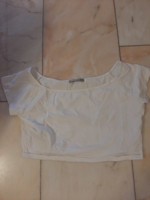 Atmosphere Cropped shirt wit