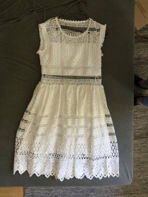 Joseph Janard Kanten jurk wit Viscose