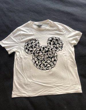 Weißes Disney Tshirt von Zara