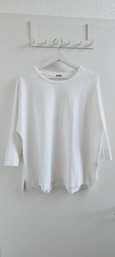 Weißes Drykorn Oversize Lyoncell Shirt Lenilia Gr. S