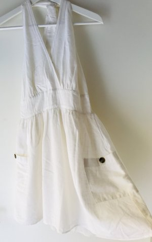 American Eagle Outfitters Halter Dress white cotton