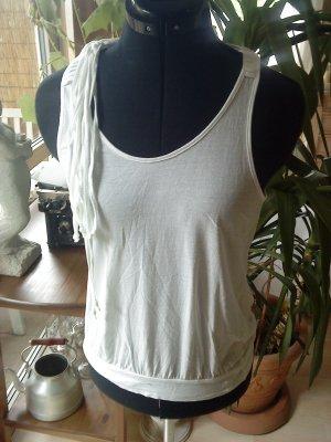 weißes extravagantes Top von Vero moda Größe M