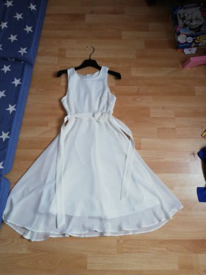 bpc bonprix collection Suknia balowa biały Poliester